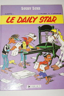 Lucky Luke Le Daily Star-Morris Fauche Leturgie-Dargaud 1984