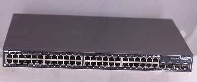 Dell PowerConnect 2848 48-Port Ethernet Gigabit Network Switch 0F496K w/ Cord