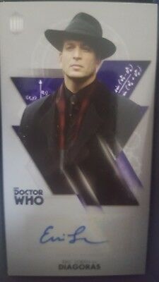 2016 Topps 10th Tenth Doctor Who Adventures  Autograph Eric Loren