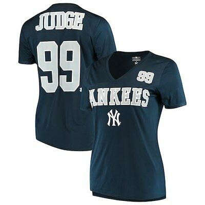 aa2e9caf YOUTH NEW YORK Yankees Aaron Judge Majestic Navy Blue Jersey T-Shirt ...