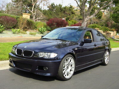 """2004 BMW 3-Series Supercharged 330i ~ 285+ hp ~ BBS Wheels """"Oriental Blue"""" - $30k+ in Receipts(!) - New Suspension - Long-Term Ownership"""