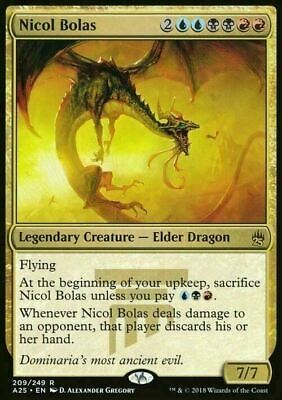 Nicol Bolas ~ Masters 25 ~ MINT/NearMint ~ Magic The Gathering
