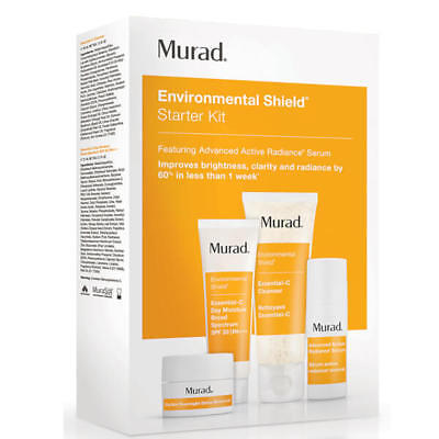 Murad Environmental Shield Starter Kit 4 step Regime Acne-prone Complexions BNIB