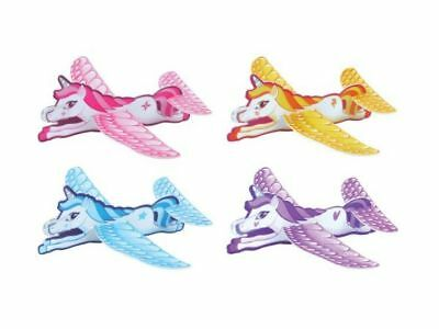 JOB LOT of 48 UNICORN GLIDERS Party Bag Toy WHOLESALE BULK BUY