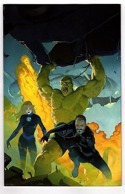 Fantastic Four #1 Virgin Variant Ribic 1:100 2018 Marvel Comics