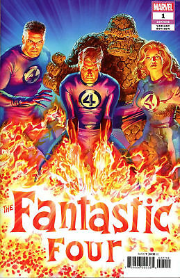 Fantastic Four #1 Alex Ross 1:50 Variant 1st Eradikus Marvel 2018