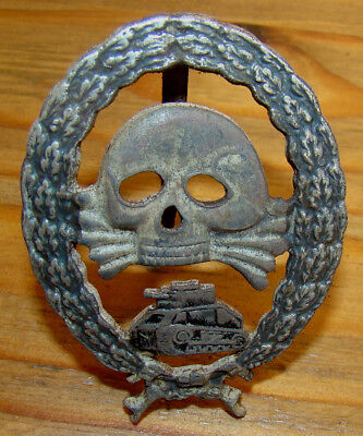 Ww1 Imperial German Sturmtruppe Assault Tank Badge !!