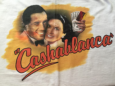"""Cashablanca"" Valley View Casino CA Tee T-Shirt XL players club souvenir item"