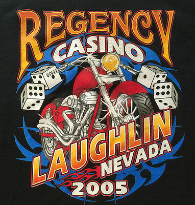 Regency 2005 Laughlin Nevada Casino Tee T-Shirt XL players club souvenir item
