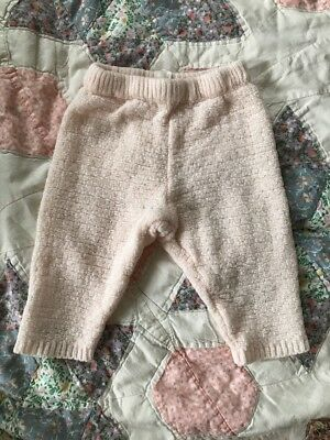 Baby Girl's Pants Pink Soft Sweet 3-6 Months