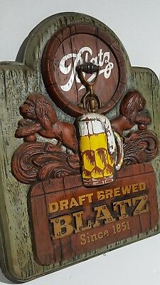 Blatz  Beer Sign, vintage, extremely rare,  Old Stock, Very Good Condition