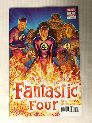 Fantastic Four (2018) #1 - 1:50 Variant! VF/NM - Alex Ross Cover!