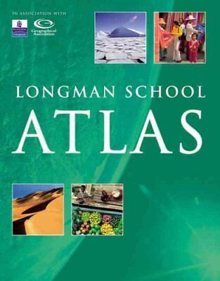 Longman School Atlas by Stephen Scoffham 9781405822640 (Paperback, 2006)