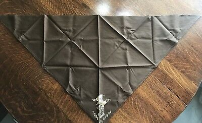 Boy Scout Brown Kerchief With T368 RJM '84