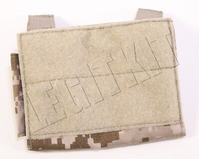 NEW Eagle Industries AOR1 GRG Chest Pouch w/ Document Window - MOLLE - 5A1 SEAL