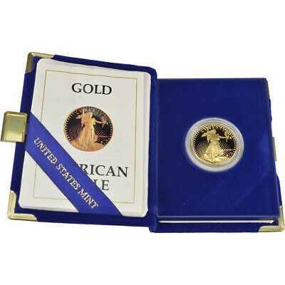 1987-P American Gold Eagle Proof (1/2 oz) $25 in OGP