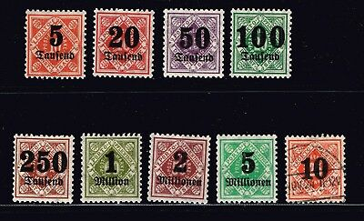 GERMANY Wurttemberg Stamp COLLECTION LOT  -1