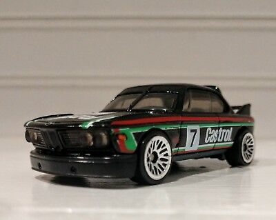 2017 hot wheels 39 73 bmw 3 0 csl race car castrol 7 12. Black Bedroom Furniture Sets. Home Design Ideas