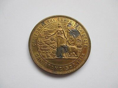 Panama Canal Completion Medal - 1915 San Francisco Exposition