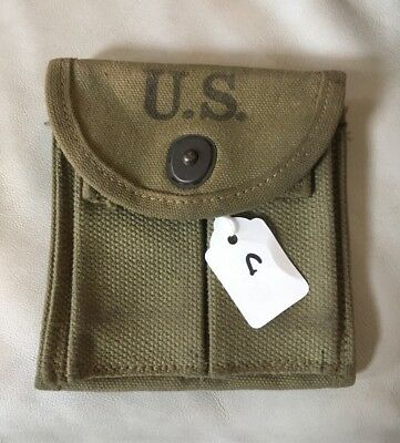 Original WWII M1 Carbine Stock Pouch C S Froehlich CO