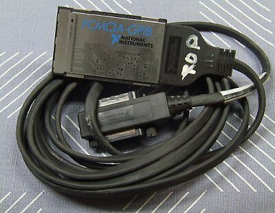 National Instruments PCMCIA-GPIB Interface Card with 4 Meter Cable