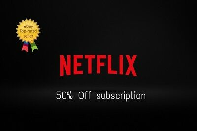 Netflix Ultra-HD  ✅ 50% Off ✅ Genuine ✅ Unlimited ✅ Personal