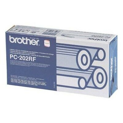 Genuine Brother PC-202RF  Thermal Film Ribbon - NEW SEALED