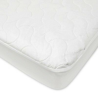 Crib Toddler Mattress Protector Pad Waterproof Fitted Sheet Protective Cover Bed