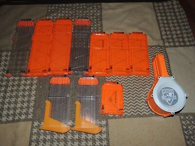 Lot of 11 Nerf Gun Clips