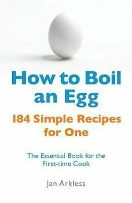 NEW How to Boil an Egg By Jan Arkless Paperback Free Shipping