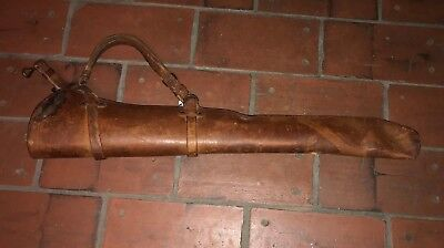 Krag cavalry leather  scabbard  dated  1905 Rock Island  Arsenal