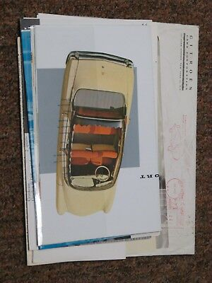 1962 Citroen Sales Materials (in original envelope)