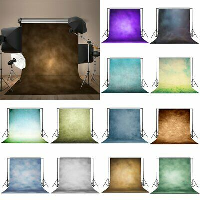 Retro Solid Color Photography Background Cloth Studio Photo Backdrop 3x5/5x7FT