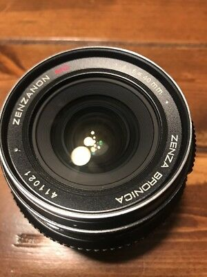 Bronica 40mm F4 Mc Lens Etr Etrs Etrsi Excellent Free Shipping