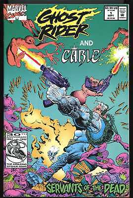 Ghost Rider And Cable #1 Near Mint/Mint