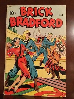 Brick Bradford #5 Vintage Golden Age Comic King Features 1948