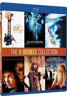 KEVIN BACON 6 DEGREES COLLECTION New Blu-ray Flatliners Hollow Man Trapped