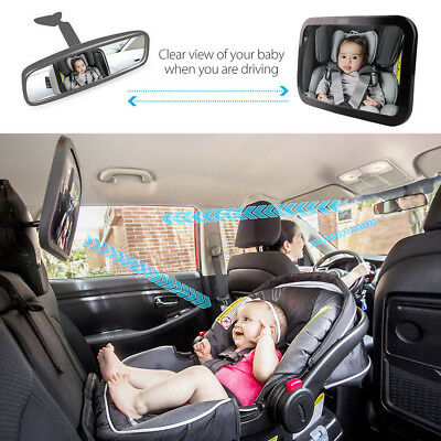 Car Safety Easy View Back Seat Mirror Baby Facing Rear Child Infant Care