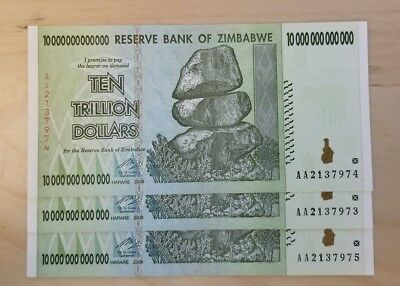 Zimbabwe Bank Notes Trillion Million Lot of 33 pcs Paper Money Currency
