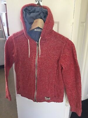 Country Road Boys Red Jacket Coat Jumper Size 8-10