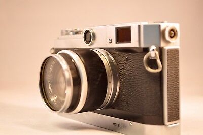 Canon Model VT Classic Rangefinder Camera with 50mm lens sold as is
