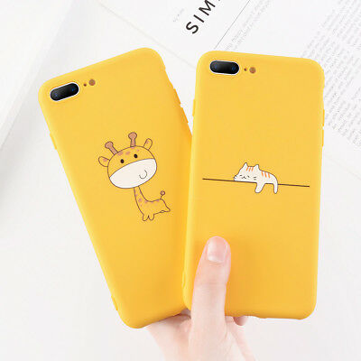 For iPhone X 5s 6s 7 8 Plus Cute Pattern Ultra Thin Soft TPU Silicone Case Cover