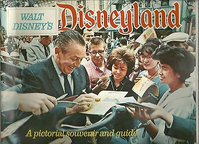 1963 Walt Disney's Disneyland Pictorial Souvenir And Guide Free Shipping