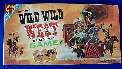 Rare Transogram TV Series Wild Wild West (The Frontier Agent) Game 100% Complete