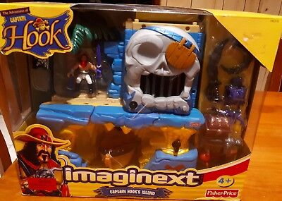 Fisher Price Imaginext Captain Hook's Island New