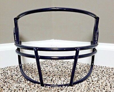 Riddell Z2B OPO Adult Football Helmet FACEMASK FACE MASK FACE GUARD NAVY BLUE
