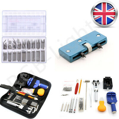 Watch Repair Tool Kit Watchmaker Back Case Cover Opener Battery Remover RLTS