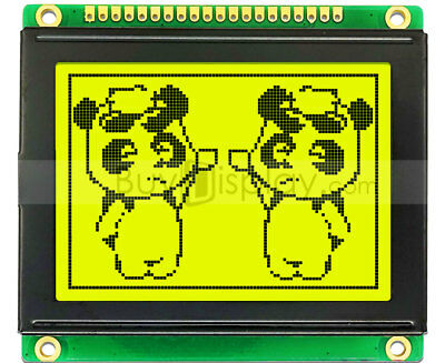 ST7920 128X64 12864 LCD Display Green Backlight Parallel