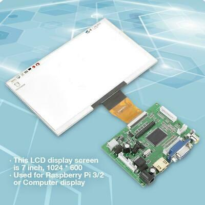 7inch 1024*600 LCD TFT Display HDMI VGA Monitor Screen Kit for Raspberry Pi 3/2