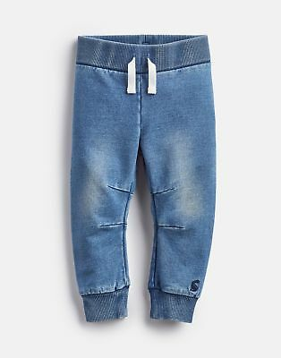 Joules Baby 125062 Baby Unisex Jersey Denim Jogger in DENIM